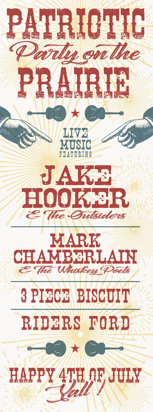 Jake Hooker And The Outsiders Tour Dates